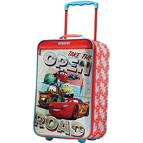 American-Tourister-74718-Disney-Cars-18-Inch-Upright-Softside-Childrens-Luggage-Cars
