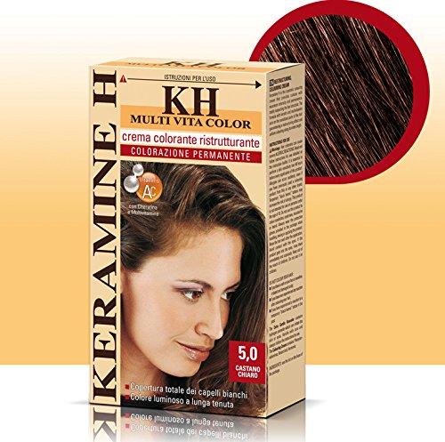 Keramine H Crema Colorante 5,0 Castano Chiaro