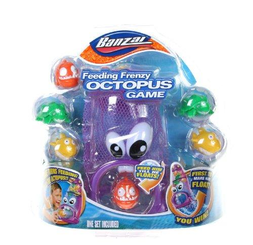 Banzai Feeding Frenzy Octopus Game - 1