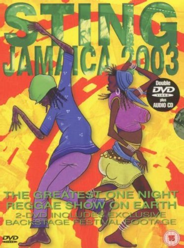 Sting Jamaica 2003 (2 Dvd+Cd)