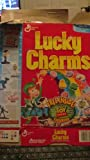 Lucky Charms Toy Story Collectible Cereal Box - 1996
