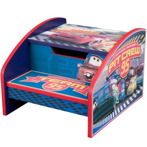 Disney Pixar Cars Step Stool Lightning McQueen Toys