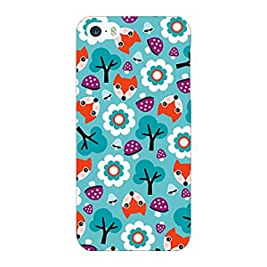 Jugaaduu Winter Pattern Back Cover Case For Apple iPhone 5