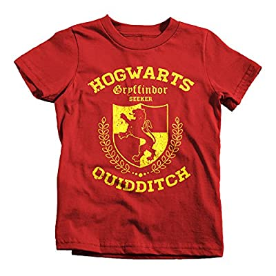 Gryffindor Quidditch Seeker Kids Funny T-Shirt Harry Wizard Potter Hogwarts Cup