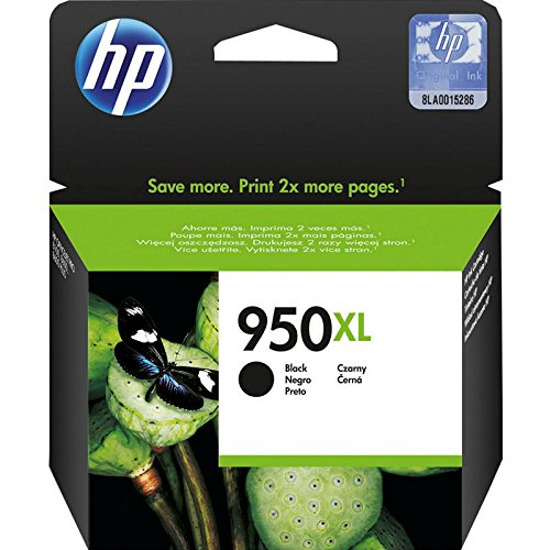HP 950XL High Yield Black Original Ink Cartridge (CN045AN) In Retail Packing