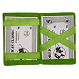 Leather Magic Wallet - Style mw1420(Colors May Vary)