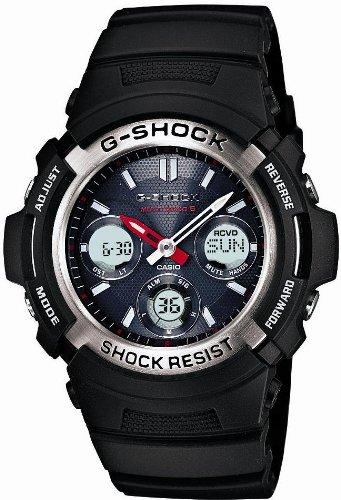 [カシオ]CASIO 腕時計 G-SHOCK ジーショック タフソーラー 電波時計 MULTIBAND 6 AWG-M100-1AJF メンズ