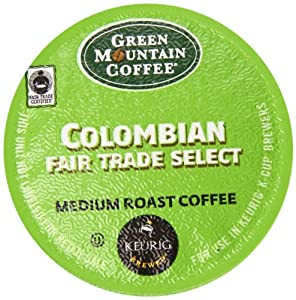 Green Mountain Coffee Medium Roast Coffee Colombian -- 12 K-Cups
