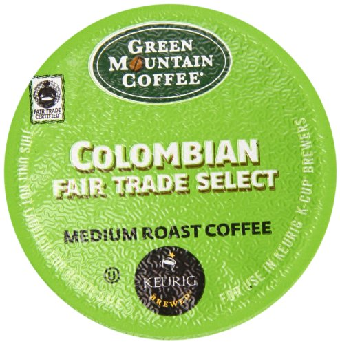 Green Mountain Coffee Select K-Cup, Columbian, 12-Count
