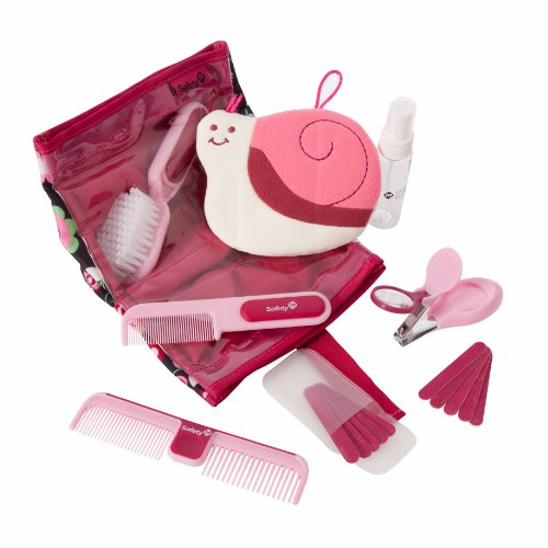 Safety 1St Complete Grooming Kit, Raspberry front-1007509