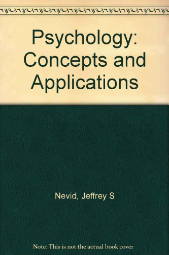 Title: Psychology Concepts and Applications