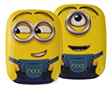 HOOX® Minions 6000mAh Ultra Slim Dual USB Portable Power Bank External Battery Charger for iPhone 6 Plus 5S 5C 5 4S, iPad Air, mini, Galaxy S5 S4 S3, Note 4 3 2, Tab 4 3 2 Pro, Nexus 4 5 7 10, HTC One, LG G3, MOTO X G, most other Phones and Tablets.