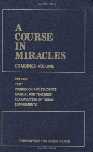 "Cover of ""A Course in Miracles: Combined ..."