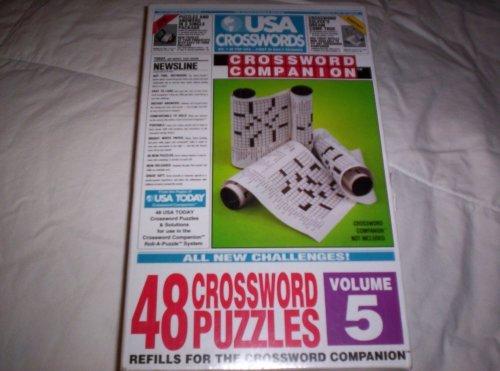 USA Crosswords Crossword Companion Refill - 48 Crossword Puzzles - Volume 5 by Herbko International - 1