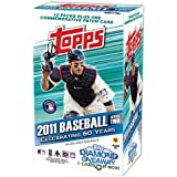 2011 Topps Series 2 MLB Hobby Baseball Factory Sealed Blaster Box with Exclusive Commemorative Patch Card!