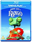 Rango (Triple Play - Blu-ray + DVD + Digital Copy) [2011] [Region Free]