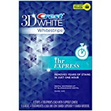 Crest 3d White 1-Hour Express Teeth Whitening Strips 4 Count