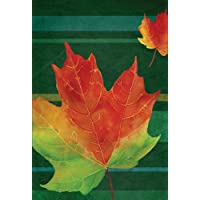 Maple Leaf Fall Folliage Flag 12.5