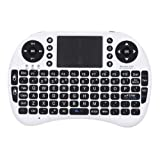 JoyQi® White Mini I8 2.4GHz Wireless Entertainment Keyboard With Touchpad For PC, Laptop, Pad, Andriod TV Box...