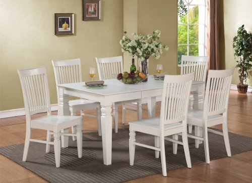 White Dining Table Chairs 7387