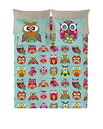 Valentina Juego De Funda Nórdica Multi Owls