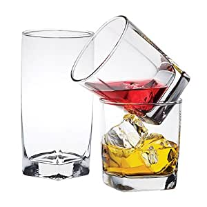 PLAZA GLASS 12PC SET