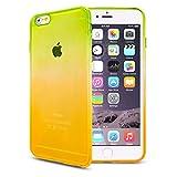 Z-NUMBER1 iPhone6/iPhone6s(4.7インチ)用 グラデーション 衝撃吸収 シリコンケース TPUケース スマホ スマートフォン ケース カバー スマホカバー スマホケース シリコンカバー iPhone6 iPhone6s アイフォン6 アイフォン6s アイフォン6ケース アイフォン6sケース iphone6ケース ソフトケース 人気 衝撃 a058 15ID12-3-YELGRE