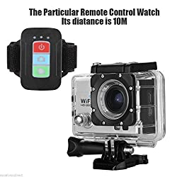 Pluto Plus WIFI Action Camera Remote Control G-570 Go Pro style camera Waterproof 30M Sport Camera 12MP 1080P