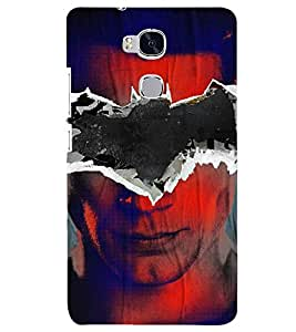 PRINTSHOPPII SUPERHERO FAN Back Case Cover for Huawei Honor X5, Huawei GR5