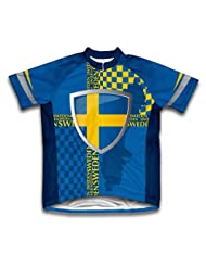 Sweden Short Sleeve Cycling Jersey for Women