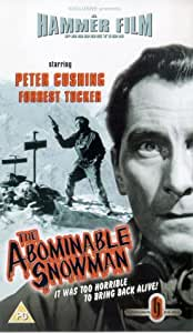 The Abominable Snowman [VHS] [1957]