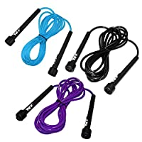 JLL® Skipping Rope 3m /10ft ADJUSTABLE Fitness Speed rope Jump Boxing Exercise Gym Jumping Workout from JLL