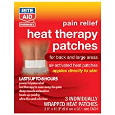 Rite Aid Heat Therapy Patch, 3 ea