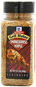 McCormick Grill Mates Smokehouse Maple Seasoning, 15.5-Ounce