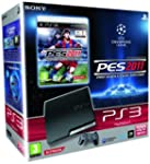 Console PS3 320 Go noire + PES 2011 :...