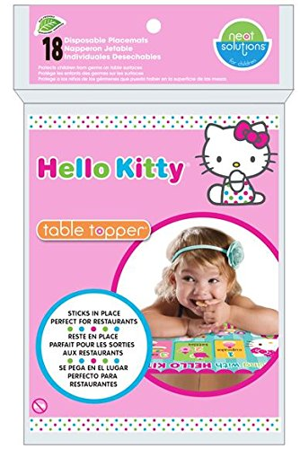 Hello Kitty Table Topper, Pink , 18-Count