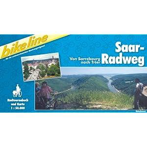 eBook Cover für  bikeline Radtourenbuch Saar Radweg Von den Franz ouml sischen Kan auml len nach Trier