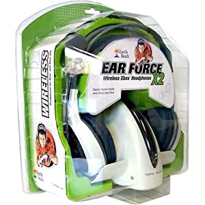 Xbox 360 EarForce X2 Wireless Headset Headphones (for Xbox, PC also)