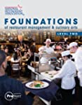 Foundations of Restaurant Management...