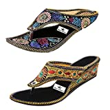 #8: Thari Choice Women's Wedges Sandal(Pair Of 2)