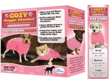 Cozy Doggie Blanket As Seen On Tv In Pink (Small) front-775725
