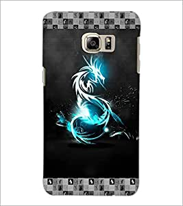 PrintDhaba Digital Dragon D-5696 Back Case Cover for SAMSUNG GALAXY NOTE 5 (Multi-Coloured)