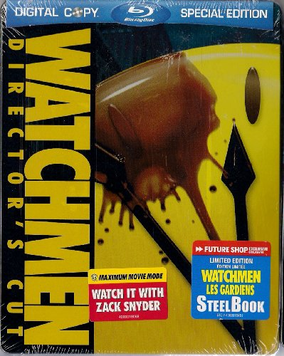 Watchmen (Director's Cut, 2-Disc Special Edition + Digital Copy) Steel Book