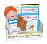 The Potty Book, Movie, and Doll Package for Boys