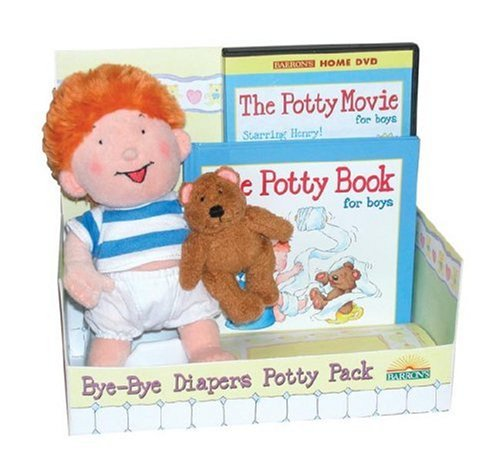 The Potty Book with DVD and Doll Package  for Boys: Henry Edition