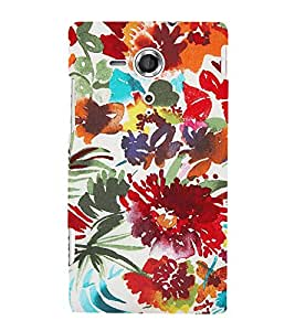 Wonderful Painting Cute Fashion 3D Hard Polycarbonate Designer Back Case Cover for Sony Xperia SP :: Sony Xperia SP HSPA C5302 :: Sony Xperia SP LTE C5303 :: Sony Xperia SP LTE C5306