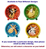 Kids Alarm Clock (Choose from Dog, Monkey, Giraffe and Zebra)