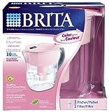 Brita Grand Water Filtration Pitcher, Pink