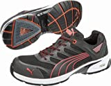 Men s Puma Safety Fuse Motion SD Low Safety Toe Shoes Blk/Red 7 D(M) US