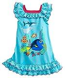 (ディズニー) Disney ファインディング・ドリー ナイトシャツ ネグリジェ パジャマ ワンピース チュニック 女の子 ブルーグリーン (110cm (4)) [並行輸入品] ランキングお取り寄せ